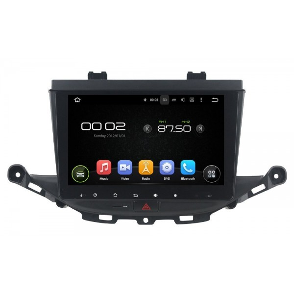 Radio DVD GPS HD Opel Astra K ANDROID PURO REF: TR3088