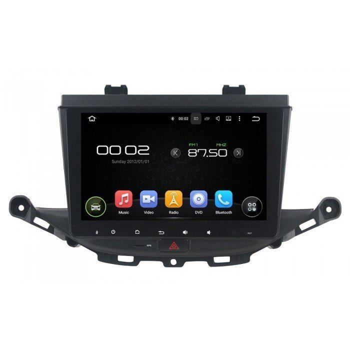 Radio DVD GPS HD Opel Astra K ANDROID PURO REF: TR3088