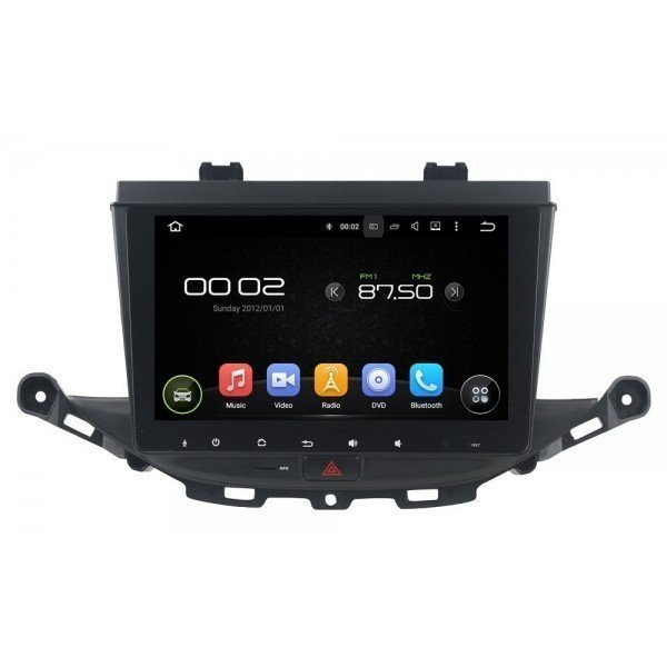 Radio DVD GPS HD Opel Astra K ANDROID PURO REF: TR3089
