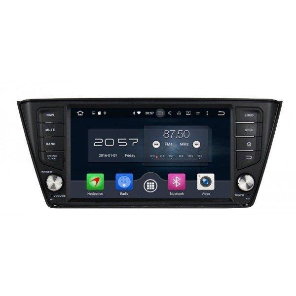 Radio DVD GPS 4G LTE Android 8 Skoda Fabia 2015 REF: TR3092