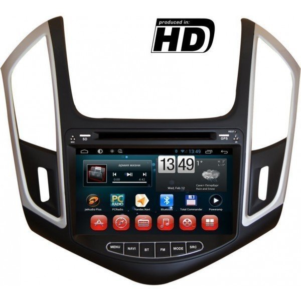 Radio DVD GPS 4G LTE Chevrolet Cruze ANDROID