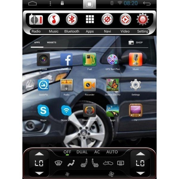 TESLA STYLE Honda CRV 2006 2007 2008 2009 2010 2011 gps