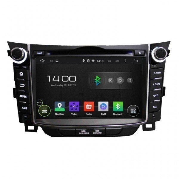 GPS Android 4G LTE OCTA CORE Hyundai I30   Tradetec