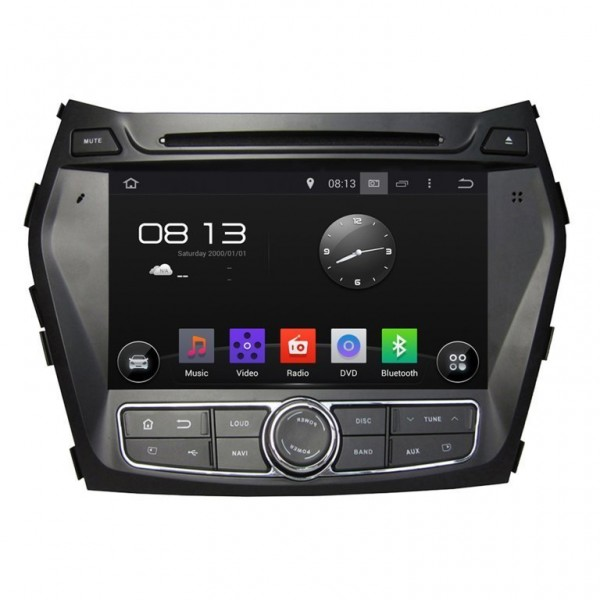 GPS Android OCTA CORE 4G LTE Hyundai IX45 | Tradetec