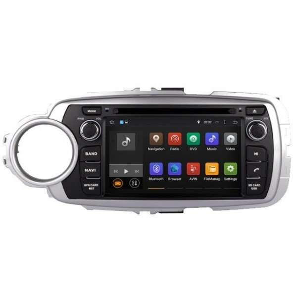 GPS Android OCTA CORE 4G LTE Toyota Yaris
