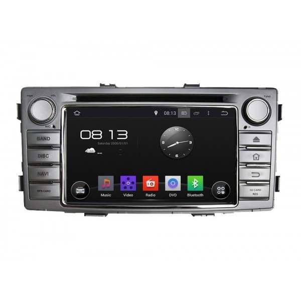 Radio DVD GPS 4G LTE Toyota Hilux ANDROID | Tradetec.es