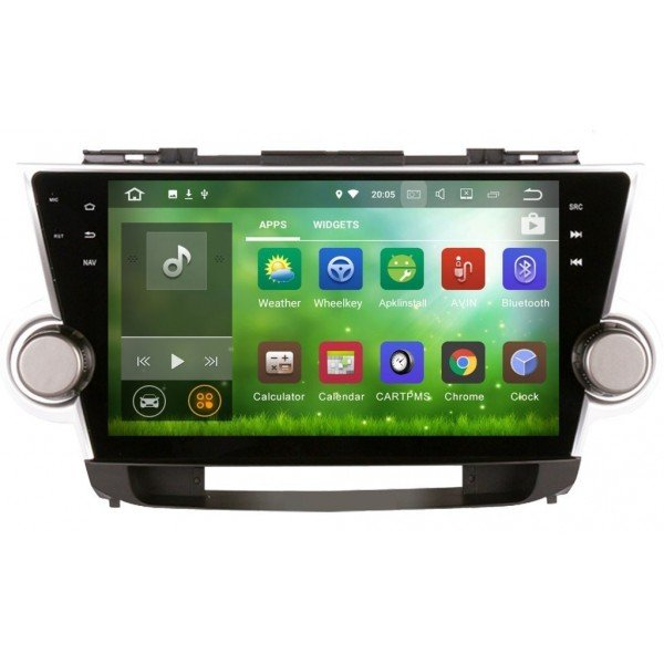 GPS Android Toyota Highlander