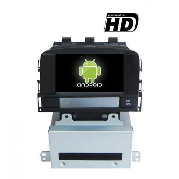 Radio DVD GPS HD Opel Astra J 4GB RAM ANDROID REF: TR3134
