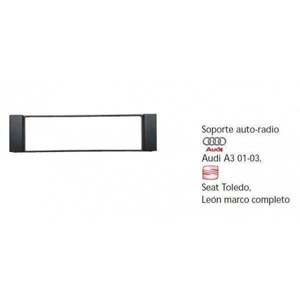 Soporte auto-radio Audi A3,01-03, Seat Toledo Leon. Ref:TR412