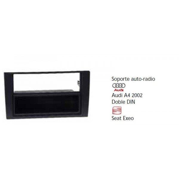 Fascia Panel Audi A4 2002 Doble DIN, Seat Exeo Ref:TR417