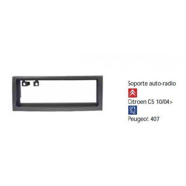 Soporte auto radio Citroen C5 10/04-, Peugeot 407 Ref: TR449