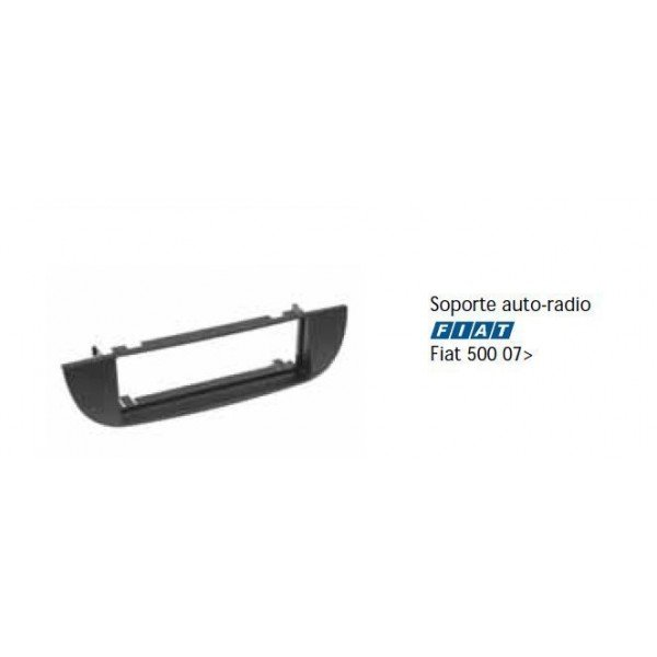 Soporte auto radio Fiat 500 07- Ref: TR473