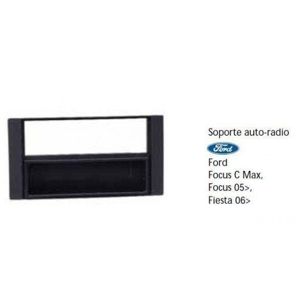 Soporte auto radio Ford Focus C-Max, Focus 05-, Fiesta 06- Ref: TR484