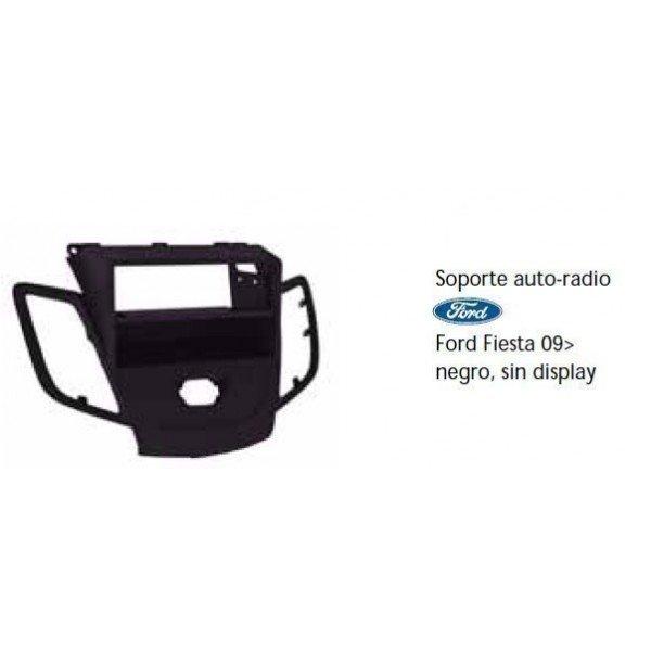 Soporte auto radio Ford Fiesta 09- negro sin display Ref: TR491
