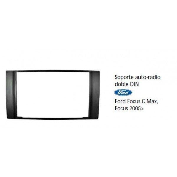 Soporte auto radio Ford Focus, C-Max, Focus 2005- Ref: TR495