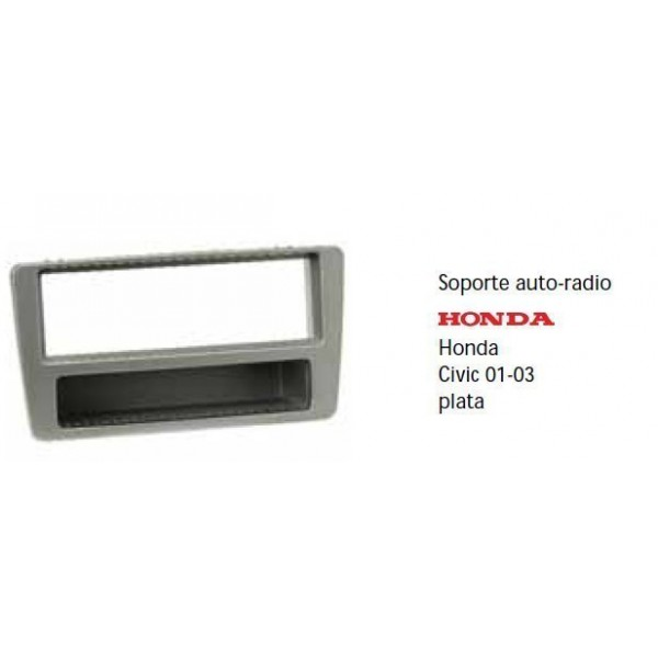 Fascia panel  Honda Civic 01-01 silver Ref: TR499