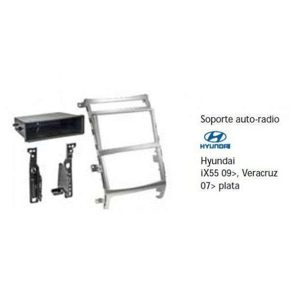Fascia panel Hyundai IX55 09-, Veracruz 07-  silver Ref: TR515