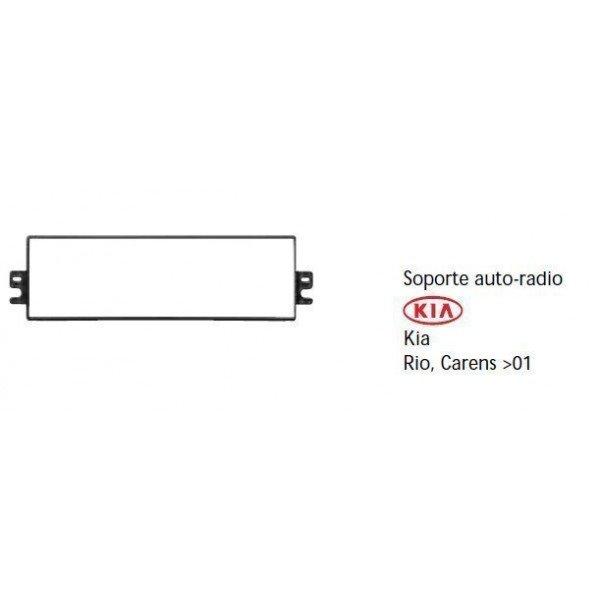 Soporte auto radio Kia Rio, Carens -01 Ref: TR527