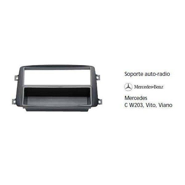 Soporte auto radio Mercedes C W203, Vito, Viano Ref: TR569
