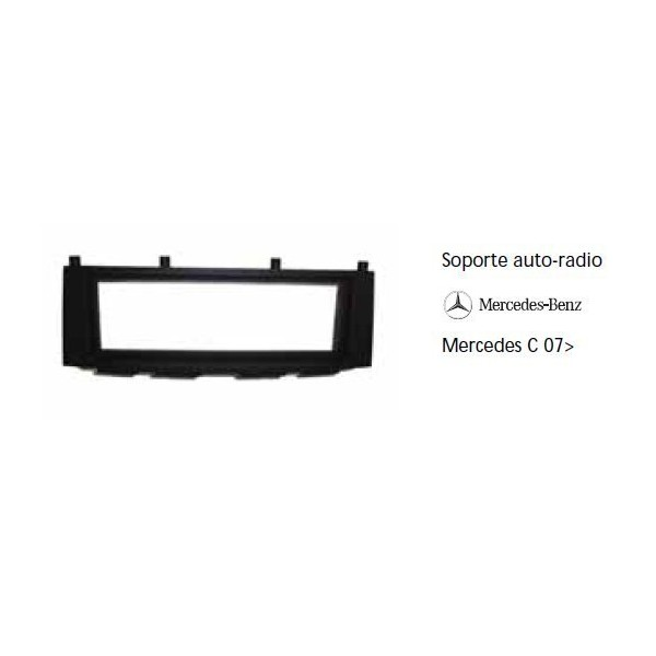 Soporte auto radio Mercedes C 07-  Ref: TR575