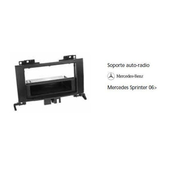 Soporte auto radio Mercedes Sprinter 07-  Ref: TR578