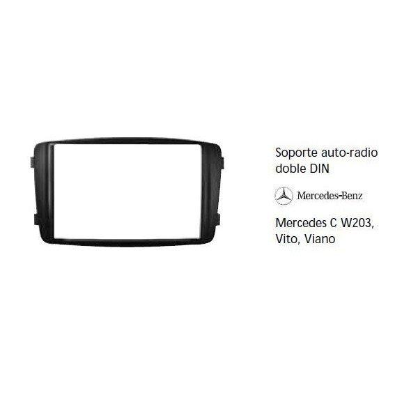Soporte auto radio Mercedes C W203, Vito, Viano Ref: TR579