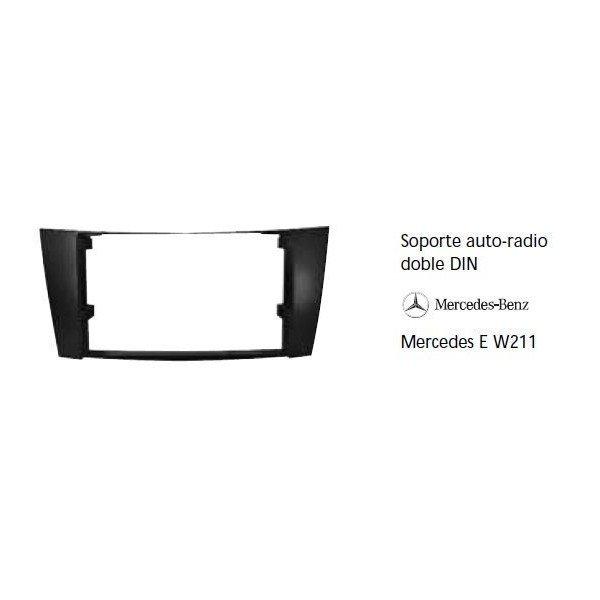Soporte auto radio Mercedes E W211 Ref: TR581