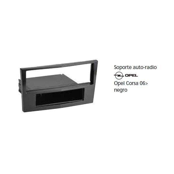 Soporte auto radio Opel Corsa 06- negro Ref: TR607