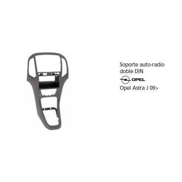 Soporte auto radio Opel Astra J 09- Ref: TR610