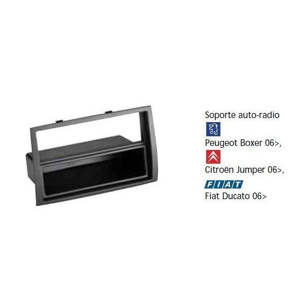 Soporte auto radio Peugeot Boxer 06-, Citroen Jumper 06-, Fiat Ducato 06- Ref: TR616