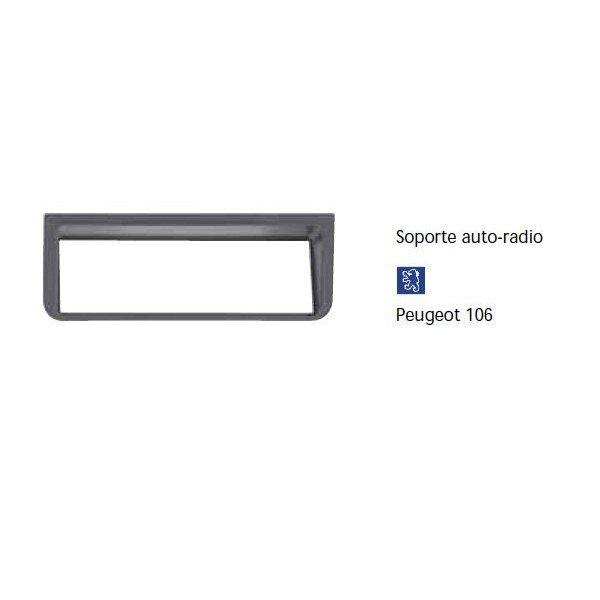 Soporte auto radio Peugeot 106 Ref: TR617