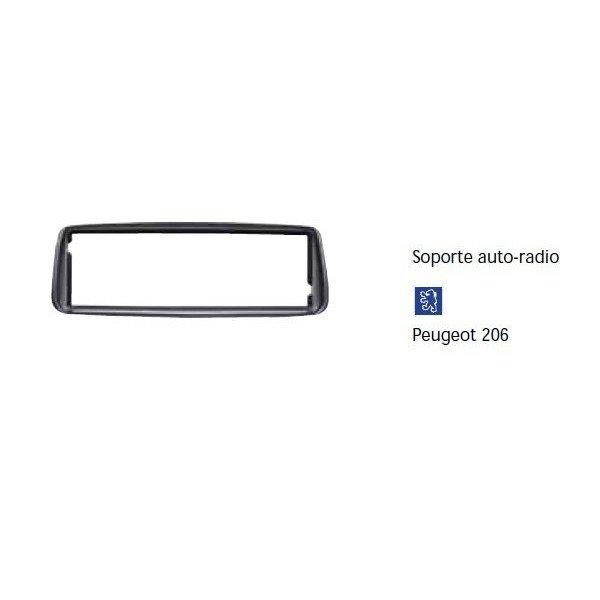 Soporte auto radio Peugeot 206 Ref: TR618