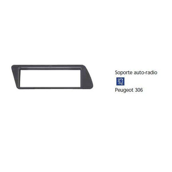Soporte auto radio Peugeot 306 Ref: TR619