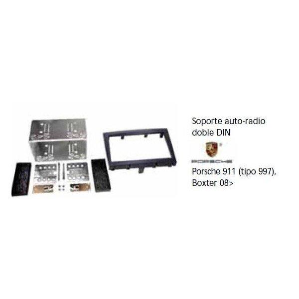 Fascia panel Porsche 911 (997), Boxter -08 Doble DIN Black Ref: TR627