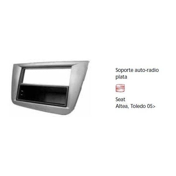 Soporte auto radio Seat Altea Toledo 05- Ref: TR640