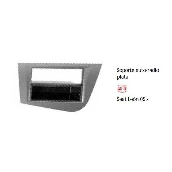 Soporte auto radio Seat Leon 05- Ref: TR641