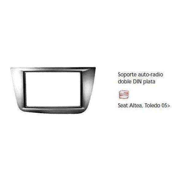 Fascia panel Seat Altea, Toledo 05- silver Ref: TR645
