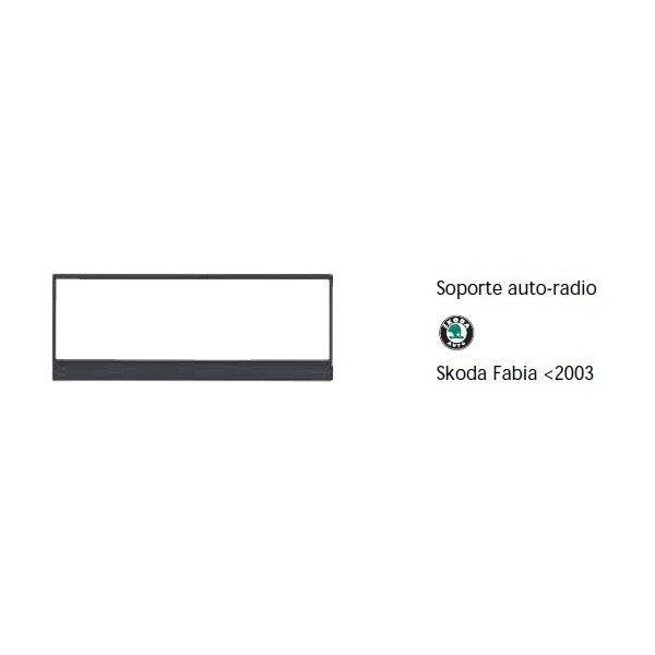 Soporte auto radio Skoda Fabia -2003 Ref: TR649