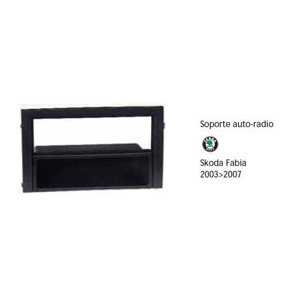 Soporte auto radio Skoda Fabia 2003-2007 Ref: TR650