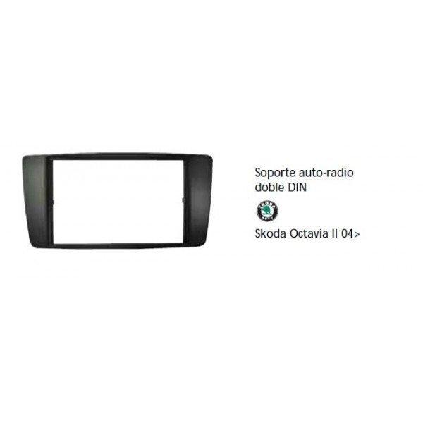 Soporte auto radio Skoda Octavia II 04- Ref: TR653