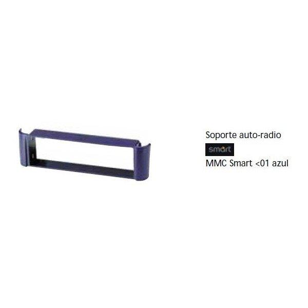 Soporte auto radio Smart -01 Azul Ref: TR655