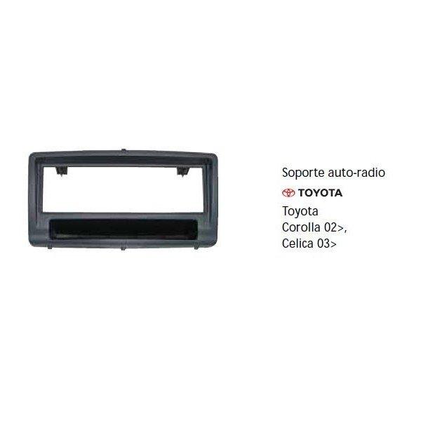 Soporte auto radio Toyota Celica 03-, Corolla 02- Ref: TR673