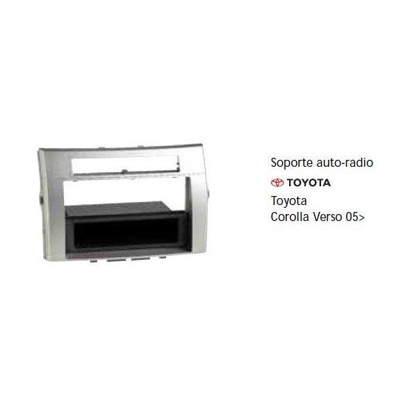 Soporte auto radio Toyota Corolla Verso 05- Ref: TR678