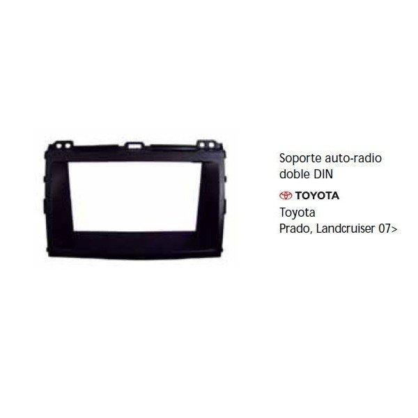 Soporte auto radio Toyota Prado, Landcruiser 07- Ref: TR681