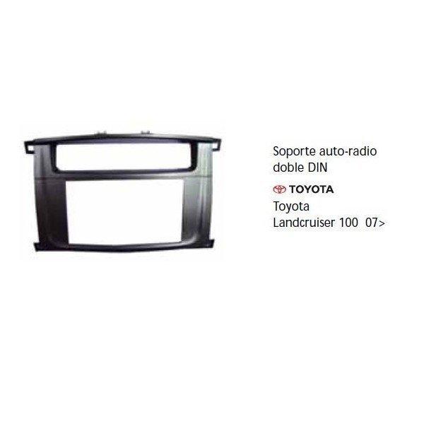 Soporte auto radio Toyota Landcruiser 100 07- Ref: TR682