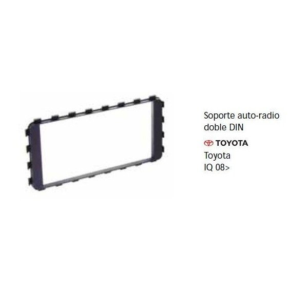 Soporte auto radio Toyota IQ 08- Ref: TR685