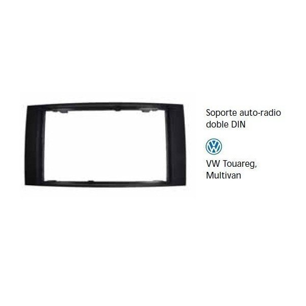 Fascia panel Touareg, Multivan doble DIN Ref: TR692