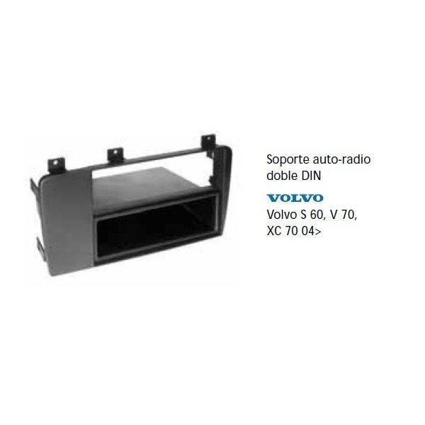 Soporte auto radio Volvo S60, V70, XC70 04- Ref: TR697