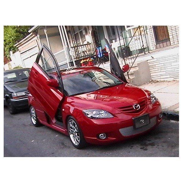 Bisagras puertas apertura vertical Mazda 3 REF: TR854