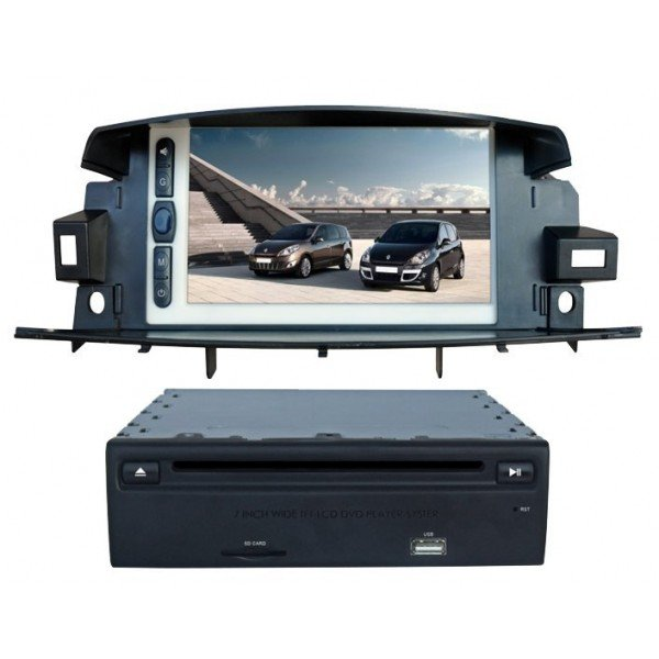 DVD WITH GPS, DVB-T, PIP RENAULT KOLEOS REF: TR887